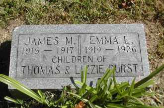 DURST, EMMA - Gallia County, Ohio | EMMA DURST - Ohio Gravestone Photos