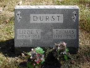 DURST, LIZZIE - Gallia County, Ohio | LIZZIE DURST - Ohio Gravestone Photos