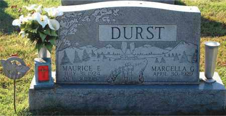 DURST, MAURICE E - Gallia County, Ohio | MAURICE E DURST - Ohio Gravestone Photos