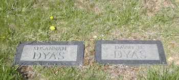 DYAS, SUSANNAH - Gallia County, Ohio | SUSANNAH DYAS - Ohio Gravestone Photos