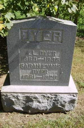 DYER, SARAH - Gallia County, Ohio | SARAH DYER - Ohio Gravestone Photos