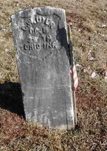DYER, C. W. - Gallia County, Ohio | C. W. DYER - Ohio Gravestone Photos