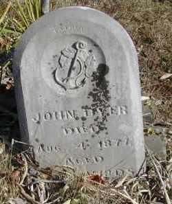 DYER, JOHN - Gallia County, Ohio | JOHN DYER - Ohio Gravestone Photos