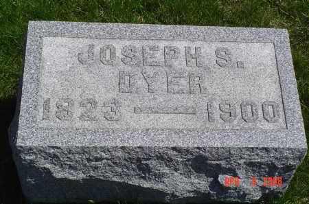 DYER, JOSEPH S. - Gallia County, Ohio | JOSEPH S. DYER - Ohio Gravestone Photos