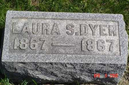 DYER, LAURA - Gallia County, Ohio | LAURA DYER - Ohio Gravestone Photos