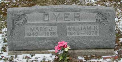 DYER, MARY J. - Gallia County, Ohio | MARY J. DYER - Ohio Gravestone Photos