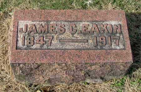 EAKIN, JAMES C - Gallia County, Ohio | JAMES C EAKIN - Ohio Gravestone Photos