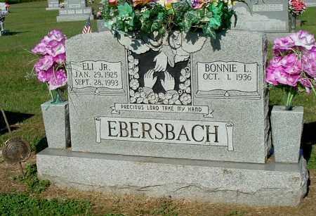 EBERSBACH, BONNIE L - Gallia County, Ohio | BONNIE L EBERSBACH - Ohio Gravestone Photos