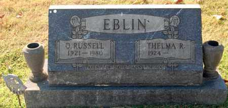 EBLIN, RUSSELL - Gallia County, Ohio | RUSSELL EBLIN - Ohio Gravestone Photos