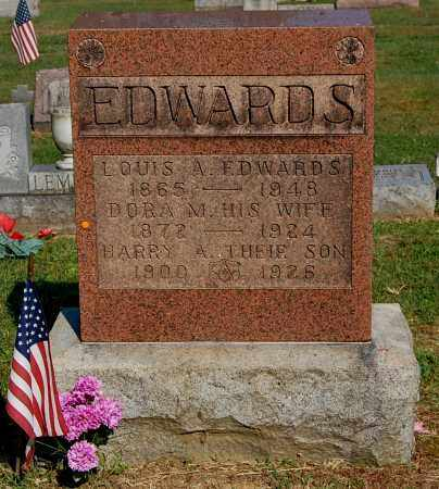 EDWARDS, LOUIS A - Gallia County, Ohio | LOUIS A EDWARDS - Ohio Gravestone Photos