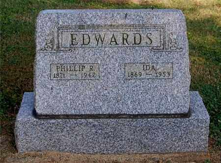 EDWARDS, IDA - Gallia County, Ohio | IDA EDWARDS - Ohio Gravestone Photos
