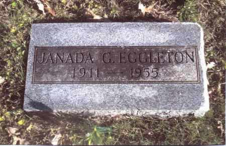 EGGLETON, JANADA G. - Gallia County, Ohio | JANADA G. EGGLETON - Ohio Gravestone Photos