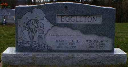 EGGLETON, WOODROW - Gallia County, Ohio | WOODROW EGGLETON - Ohio Gravestone Photos