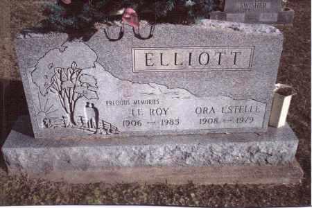 ELLIOTT, ORA ESTELLE - Gallia County, Ohio | ORA ESTELLE ELLIOTT - Ohio Gravestone Photos