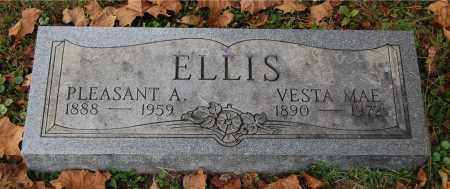ELLIS, PLEASANT A - Gallia County, Ohio | PLEASANT A ELLIS - Ohio Gravestone Photos