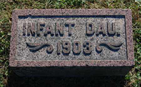 ELY, INFANT DAU (CHARLES) - Gallia County, Ohio | INFANT DAU (CHARLES) ELY - Ohio Gravestone Photos