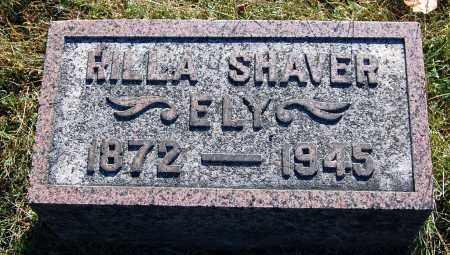 SHAVER ELY, RILLA - Gallia County, Ohio | RILLA SHAVER ELY - Ohio Gravestone Photos