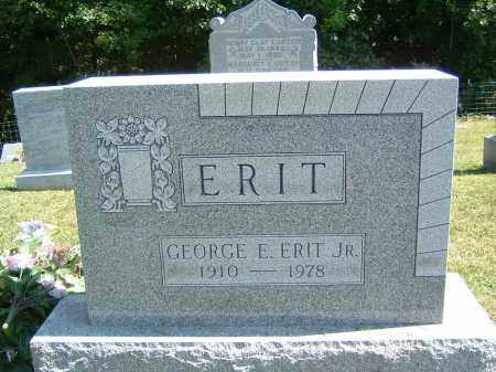 ERIT, GEORGE E. JR. - Gallia County, Ohio | GEORGE E. JR. ERIT - Ohio Gravestone Photos