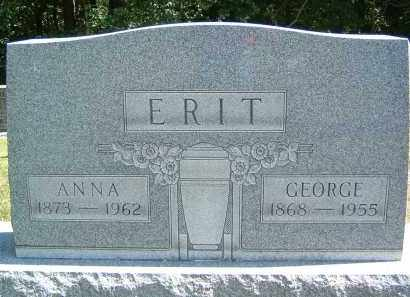 ERIT, ANNA - Gallia County, Ohio | ANNA ERIT - Ohio Gravestone Photos
