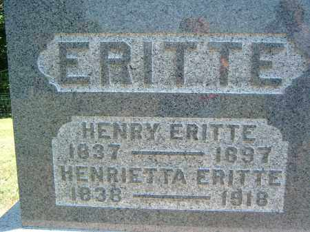 ERITTE, HENRIETTA - Gallia County, Ohio | HENRIETTA ERITTE - Ohio Gravestone Photos