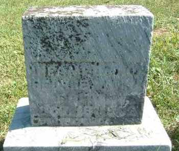 ERITTE, INFANT DAU. - Gallia County, Ohio | INFANT DAU. ERITTE - Ohio Gravestone Photos