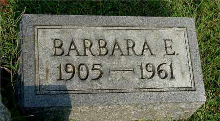 EVANS, BARBARA E - Gallia County, Ohio | BARBARA E EVANS - Ohio Gravestone Photos