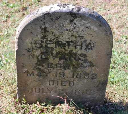 EVANS, BERTHA - Gallia County, Ohio | BERTHA EVANS - Ohio Gravestone Photos