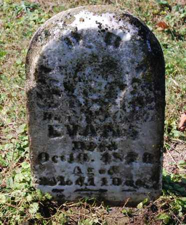 EVANS, CORA - Gallia County, Ohio | CORA EVANS - Ohio Gravestone Photos