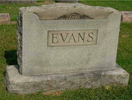 EVANS, FAMILY MONUMENT - Gallia County, Ohio | FAMILY MONUMENT EVANS - Ohio Gravestone Photos