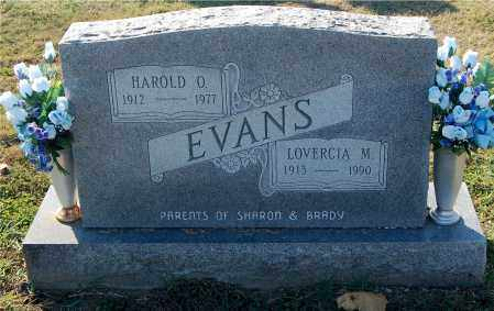 EVANS, LOVERCIA M. - Gallia County, Ohio | LOVERCIA M. EVANS - Ohio Gravestone Photos
