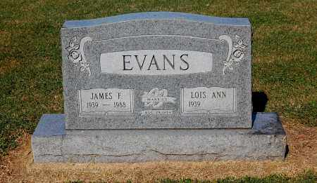 EVANS, JAMES F - Gallia County, Ohio | JAMES F EVANS - Ohio Gravestone Photos