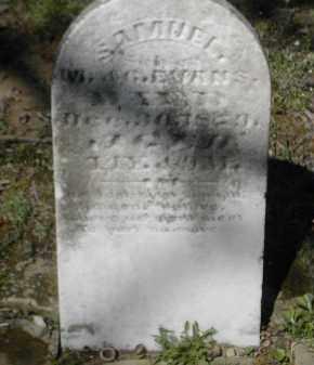EVANS, SAMUEL - Gallia County, Ohio | SAMUEL EVANS - Ohio Gravestone Photos