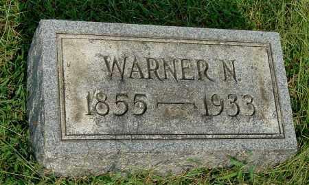 EVANS, WARNER N - Gallia County, Ohio | WARNER N EVANS - Ohio Gravestone Photos