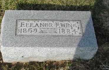 EWING, ELEANOR - Gallia County, Ohio | ELEANOR EWING - Ohio Gravestone Photos