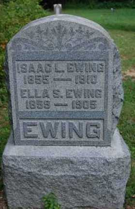EWING, ELLA S. - Gallia County, Ohio | ELLA S. EWING - Ohio Gravestone Photos