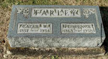 FARLEY, CALEB W - Gallia County, Ohio | CALEB W FARLEY - Ohio Gravestone Photos