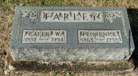 CANTERBURY FARLEY, FLORENCE ELIZABETH - Gallia County, Ohio | FLORENCE ELIZABETH CANTERBURY FARLEY - Ohio Gravestone Photos