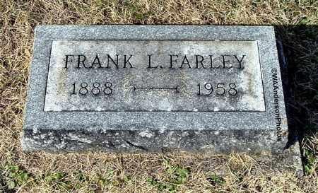 FARLEY, FRANK L - Gallia County, Ohio | FRANK L FARLEY - Ohio Gravestone Photos