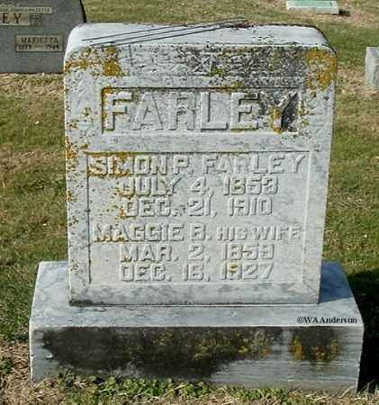 FARLEY, MAGGIE B - Gallia County, Ohio | MAGGIE B FARLEY - Ohio Gravestone Photos