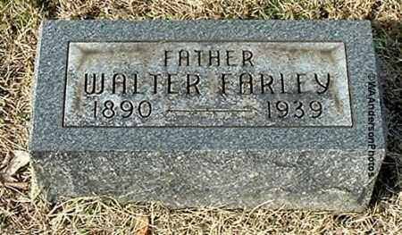 FARLEY, WALTER - Gallia County, Ohio | WALTER FARLEY - Ohio Gravestone Photos
