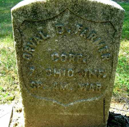 FARMER, ORVAL D - Gallia County, Ohio | ORVAL D FARMER - Ohio Gravestone Photos