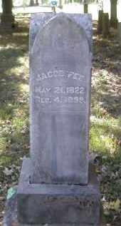 FEE, JACOB - Gallia County, Ohio | JACOB FEE - Ohio Gravestone Photos