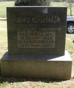 FERGUSON, SUSAN - Gallia County, Ohio | SUSAN FERGUSON - Ohio Gravestone Photos