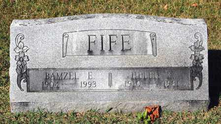 FIFE, HELEN E. - Gallia County, Ohio | HELEN E. FIFE - Ohio Gravestone Photos