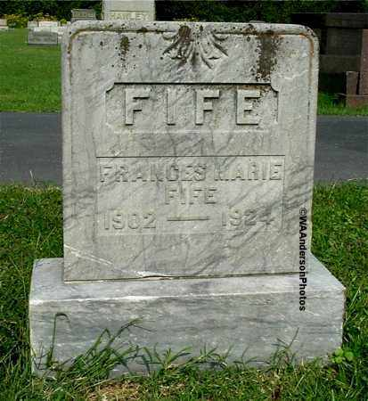 FIFE, FRANCES MARIE - Gallia County, Ohio | FRANCES MARIE FIFE - Ohio Gravestone Photos