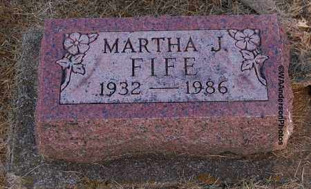 FIFE, MARTHA J - Gallia County, Ohio | MARTHA J FIFE - Ohio Gravestone Photos