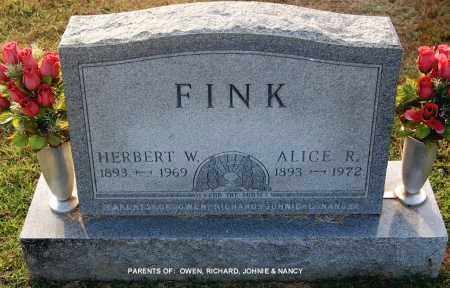 FINK, ALICE R. - Gallia County, Ohio | ALICE R. FINK - Ohio Gravestone Photos