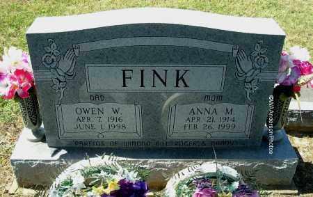 FINK, OWEN W - Gallia County, Ohio | OWEN W FINK - Ohio Gravestone Photos