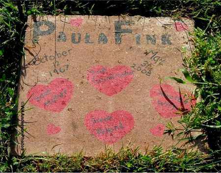 FINK, PAULA - Gallia County, Ohio | PAULA FINK - Ohio Gravestone Photos