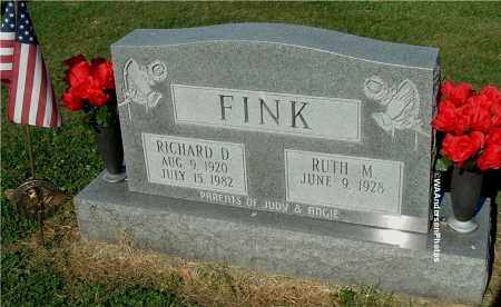 FINK, RICHARD D - Gallia County, Ohio | RICHARD D FINK - Ohio Gravestone Photos